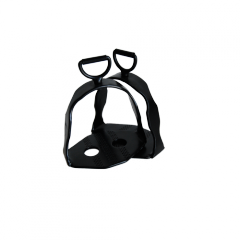 Black oiled Rotary Spanish Stirrup